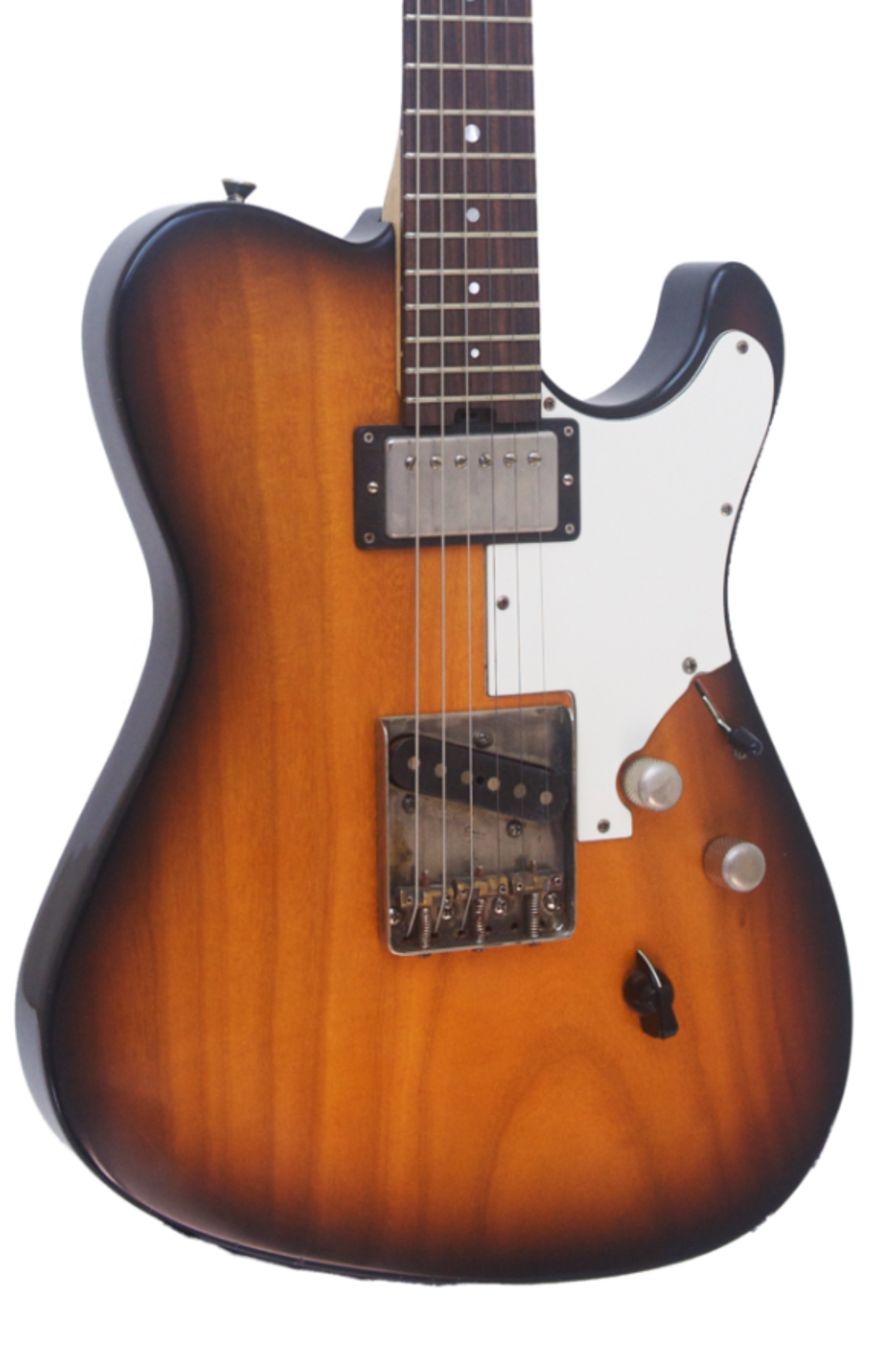 SOLD Asher HT Deluxe #863 in a Light Relic Two-Tone Nitro Burst