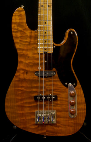 "2020 Asher TJ Bass Master Built with Tempered Body and Neck, 34"" Scale, #1201"