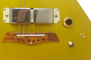 SOLD Rare Ben Harper Owned and Played Signature Lap Steel with 1960s Horseshoe Pickup - Vintage Gold