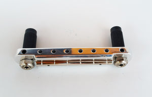 Custom Asher Lap Steel Bridge with Flat Radius