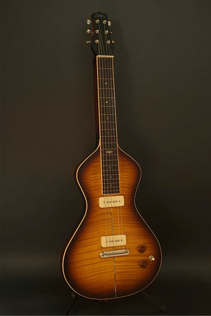 SOLD Asher EH 90 Lap Steel, Poly Tobacco Burst, #743