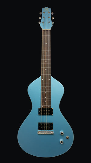 NEW Asher Electro Hawaiian® Junior Lap Steel Lake Placid Blue - More Improvements All Around!!