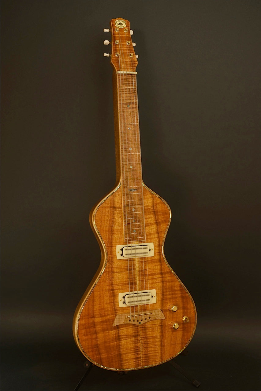 SOLD Asher Electro Hawaiian Model I Lap Steel,  #572
