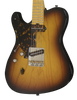 2017 T Deluxe Tobacco Burst Lefty with Tortoise Pick Guard, #1016