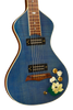 "SOLD Rare Asher 2005 ""Lotus Flower"" #1 of 1 Electro Hawaiian Model I Lap Steel w/ Custom Hand Cut Inlay - Great Condition"