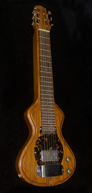SOLD 2019 Electro Hawaiian Short Scale 6-String Lap Steel in Tempered Swamp Ash, #1166