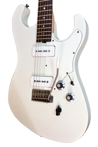 Available at Music Emporium Asher Marc Ford Signature Guitar, Olympic White Nitro Closet Relic , #964