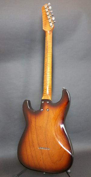SOLD Limited Ed. Mozo #952-11 Light Relic 2-Tone 50s Burst with Roasted Neck and Body