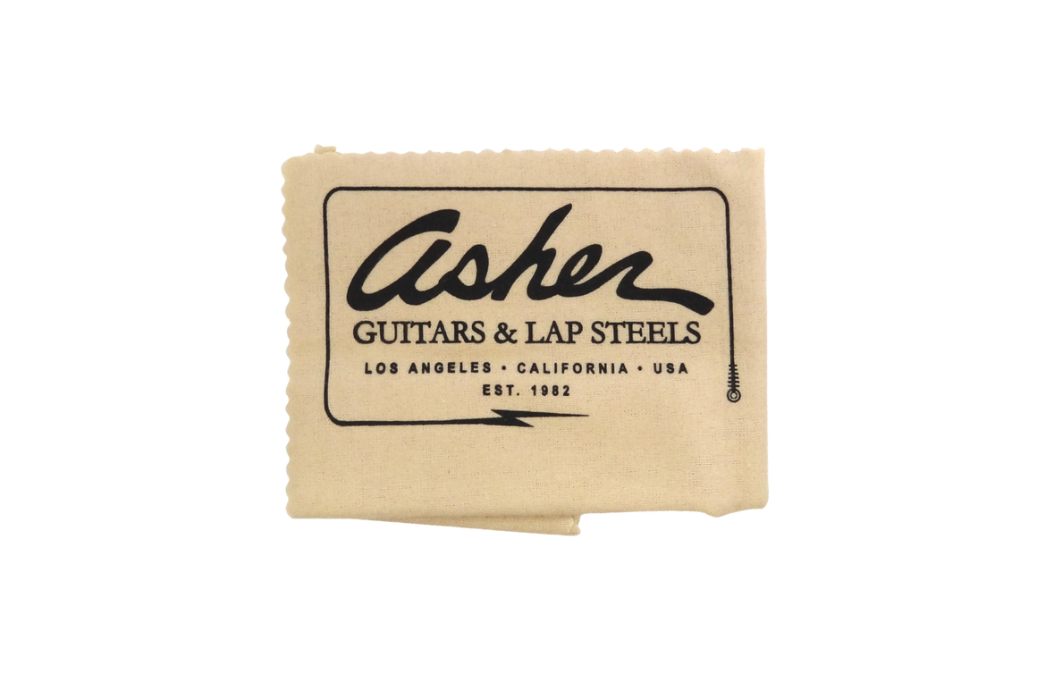 Asher Guitars Non-Treated Polishing Cloth