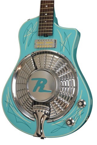 2017 Resosonic Rambler, Baby Blue with Full Pinstriping, #971