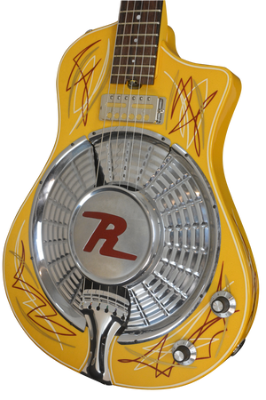 SOLD 2017 Resosonic Rambler TV Yellow Full Pin Stripe, #972
