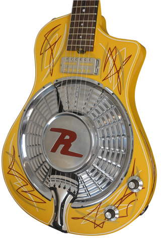 2017 Resosonic Rambler TV Yellow Full Pin Stripe, #972