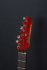 SOLD Asher 2017 S Classic, #1031 Candy Apple Red Poly over Roasted Alder with EMG SAV Alnico V Pickups