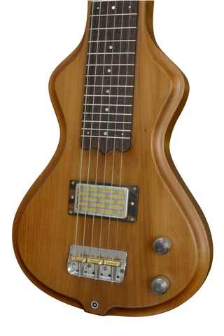 SOLD 2017 Electro Hawaiian Short Scale Lap Steel, 6-String, Roasted Bass Wood, #982 - DEMO Model