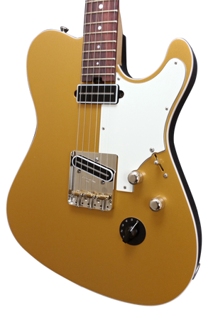 SOLD 2016 Asher T Deluxe Shoreline Gold Top with Veritone Knob, #962