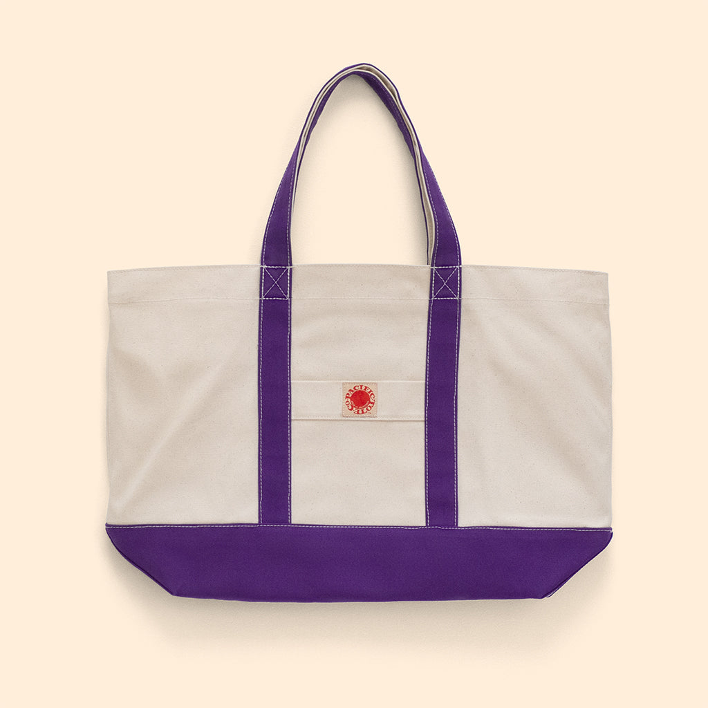 """Big Sur"" Zippered Tote (BS180010Z)"