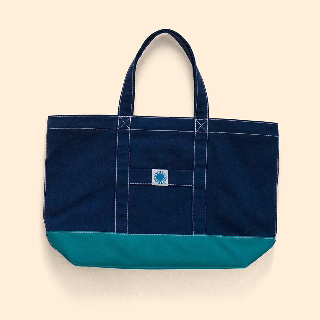 """Big Sur"" Zippered Tote (BS190019Z)"