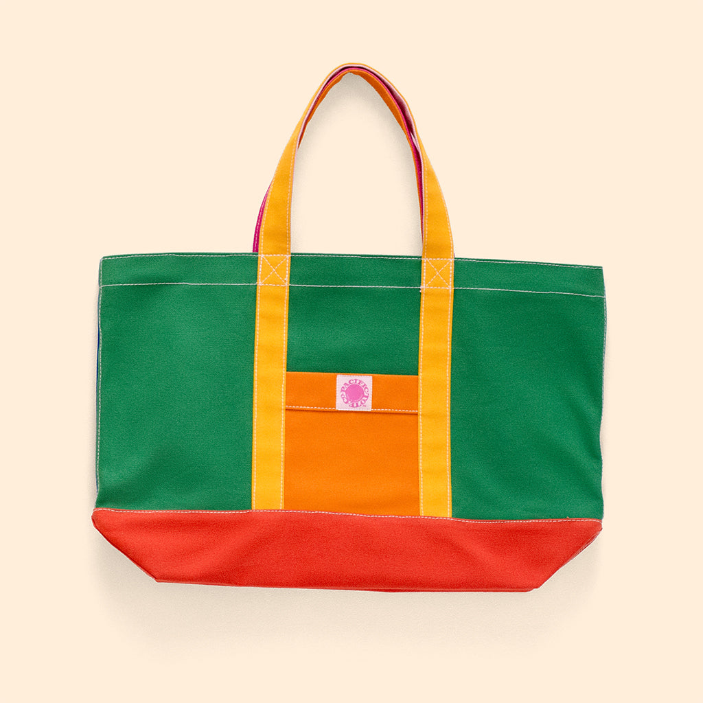 """Big Sur"" Zippered Tote (BS190011Z)"