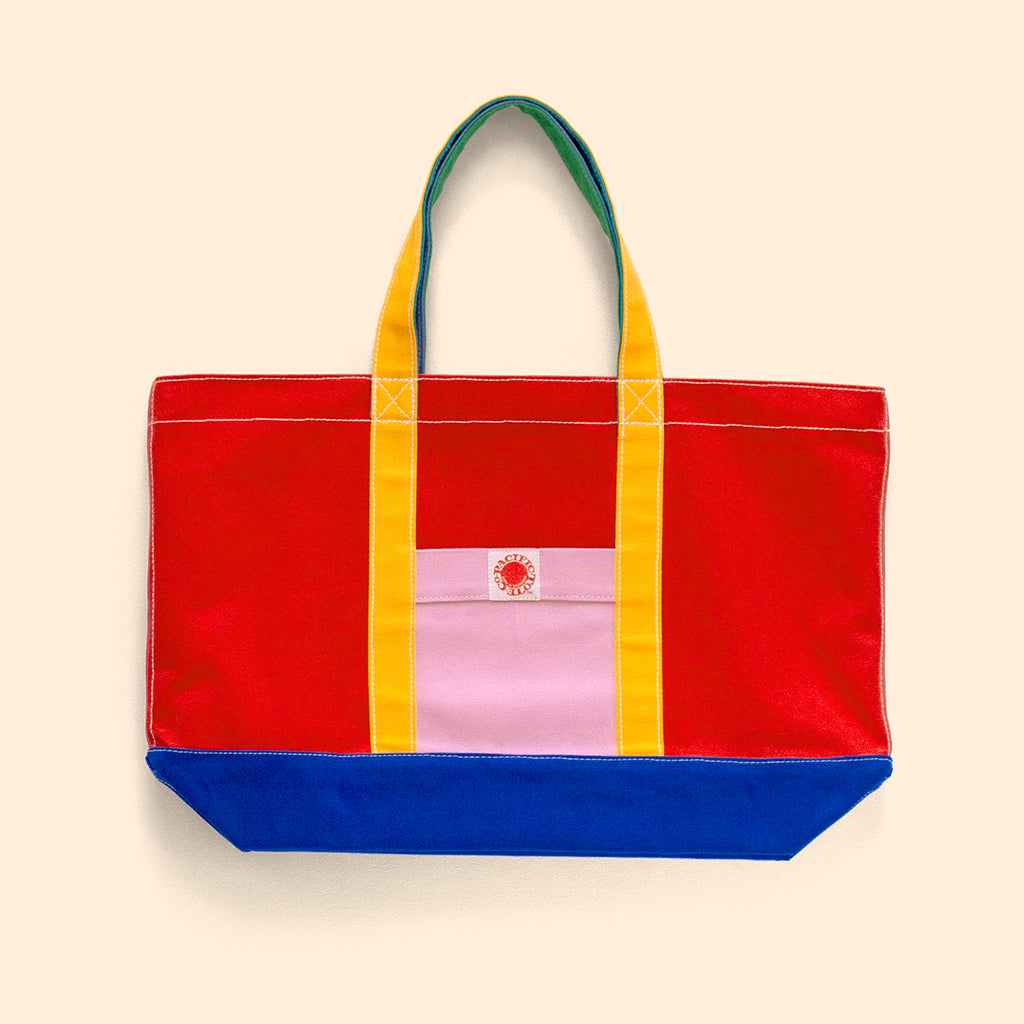 """Big Sur"" Zippered Tote (BS190020Z)"