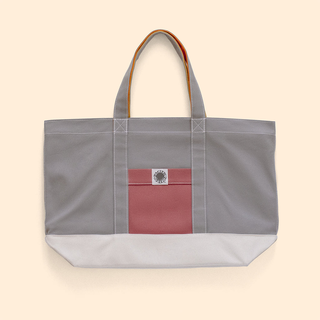 """Big Sur"" Zippered Tote (BS190021Z)"