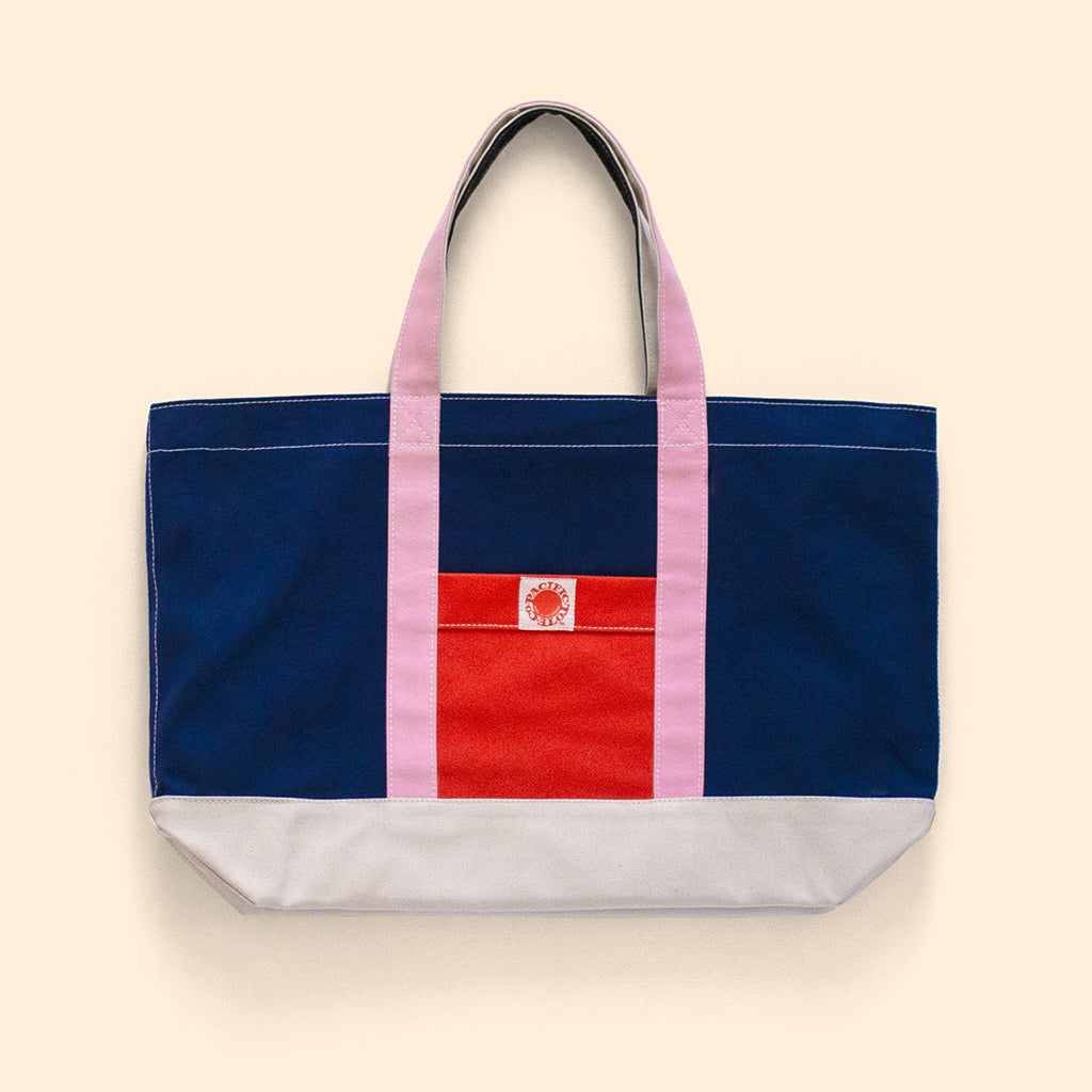 """Big Sur"" Zippered Tote (BS190017Z)"