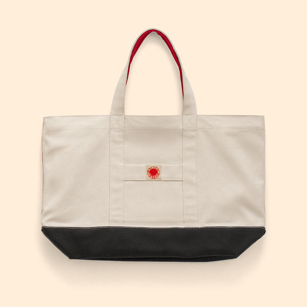 """Big Sur"" Zippered Tote (BS190015Z)"