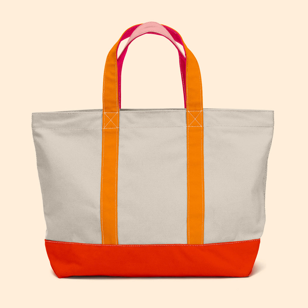 """Big Sur"" Zippered Tote (BS190009Z)"