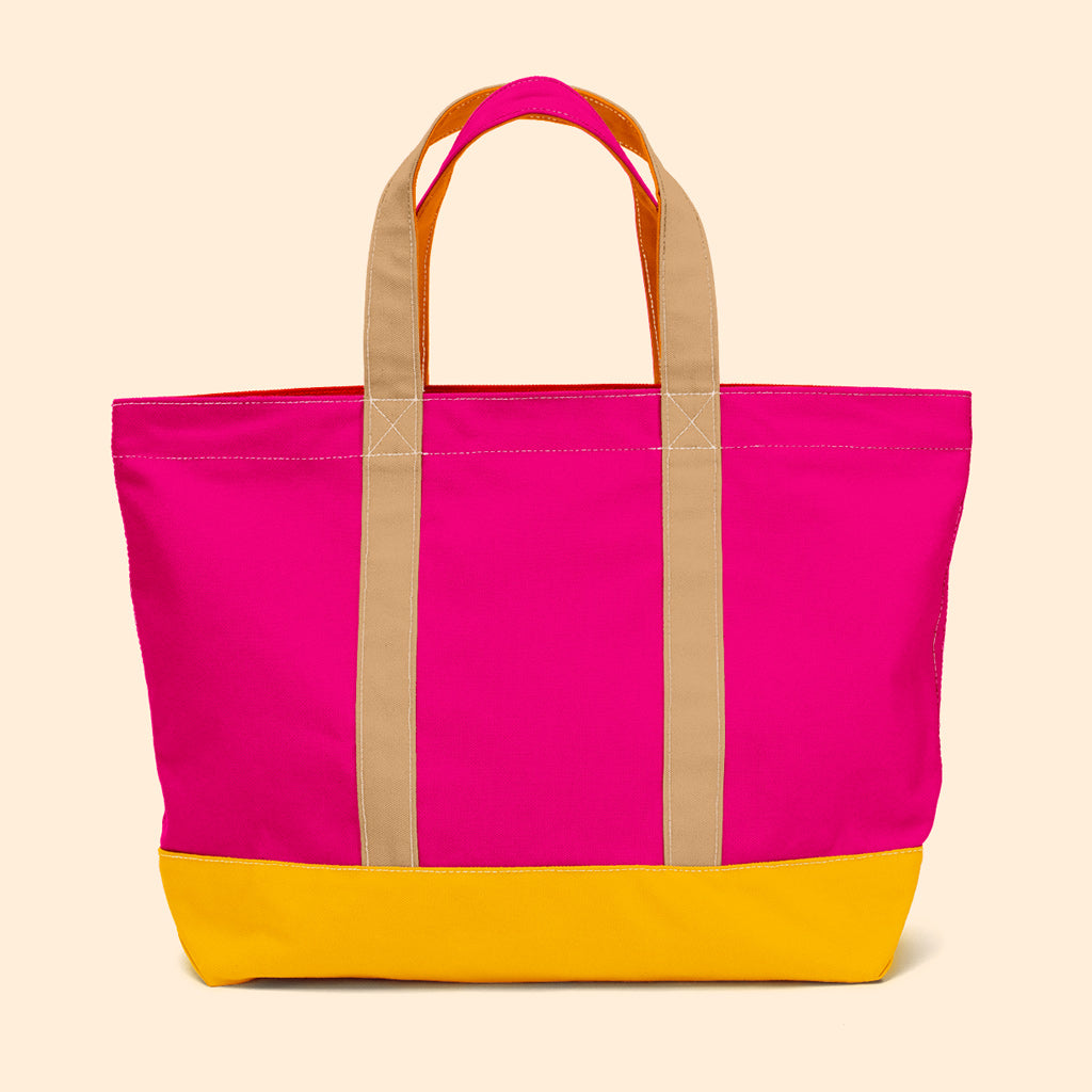 """Big Sur"" Zippered Tote (BS190012Z)"