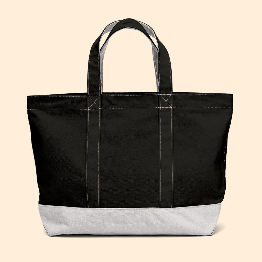"""Big Sur"" Zippered Tote (BS190018Z)"