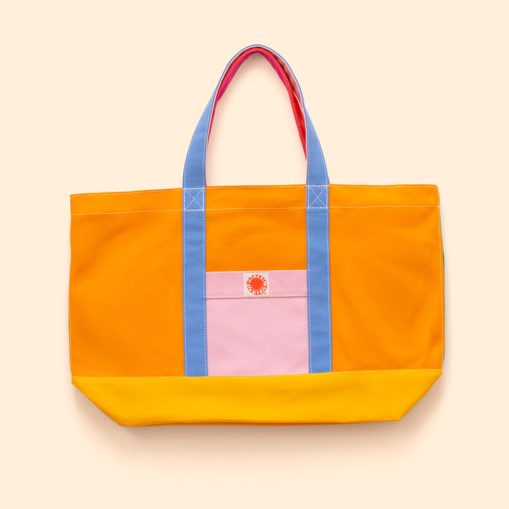 """Big Sur"" Zippered Tote (BS190022Z)"