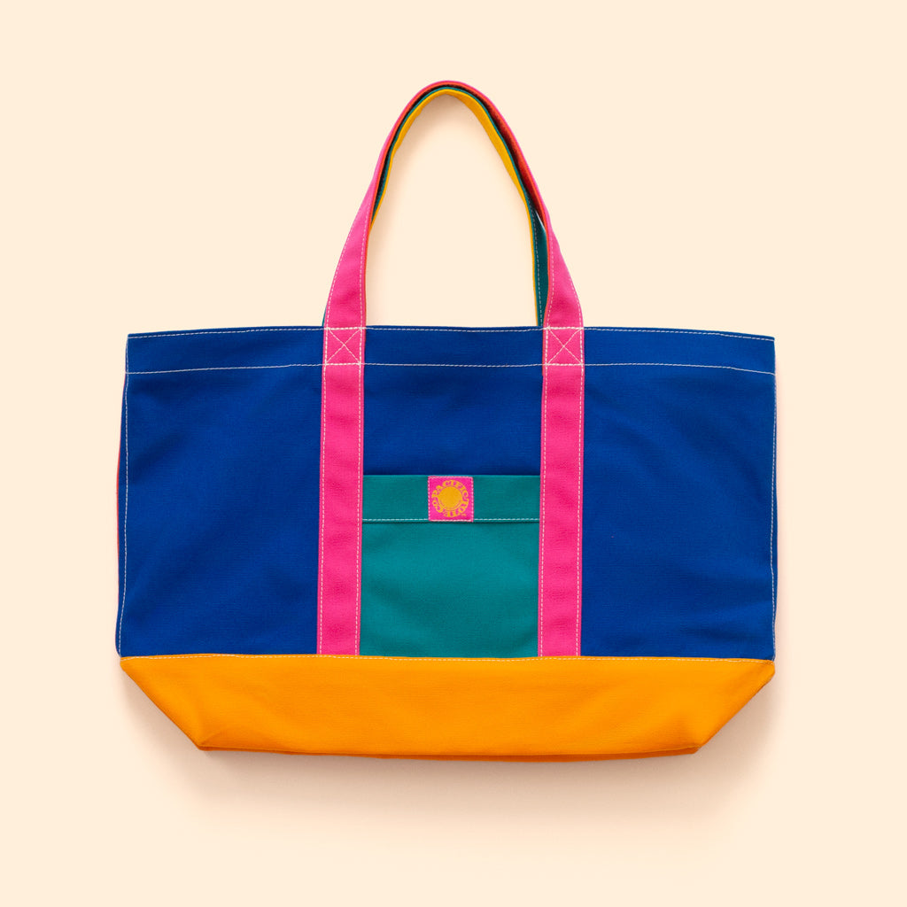 """Big Sur"" Zippered Tote (BS190023Z)"