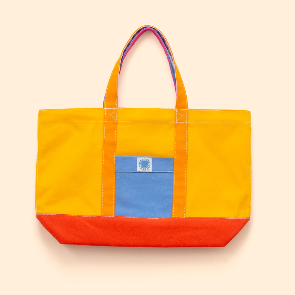 """Big Sur"" Zippered Tote (BS190024Z)"