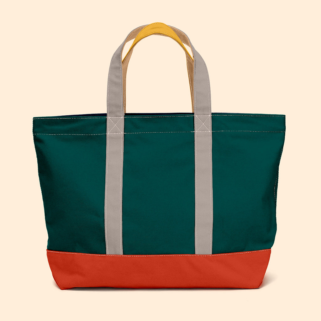 """Big Sur"" Zippered Tote (BS190025Z)"
