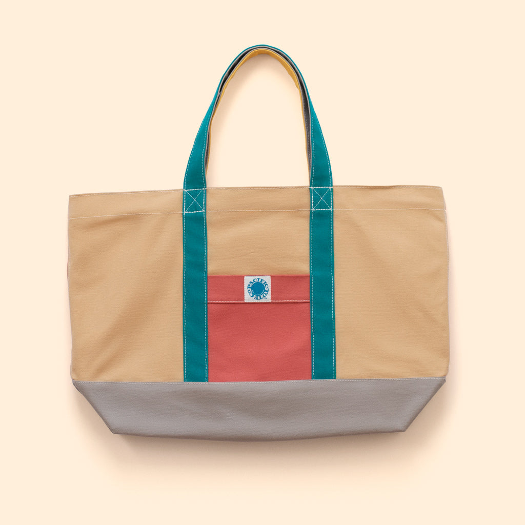 """Big Sur"" Zippered Tote (BS190026Z)"