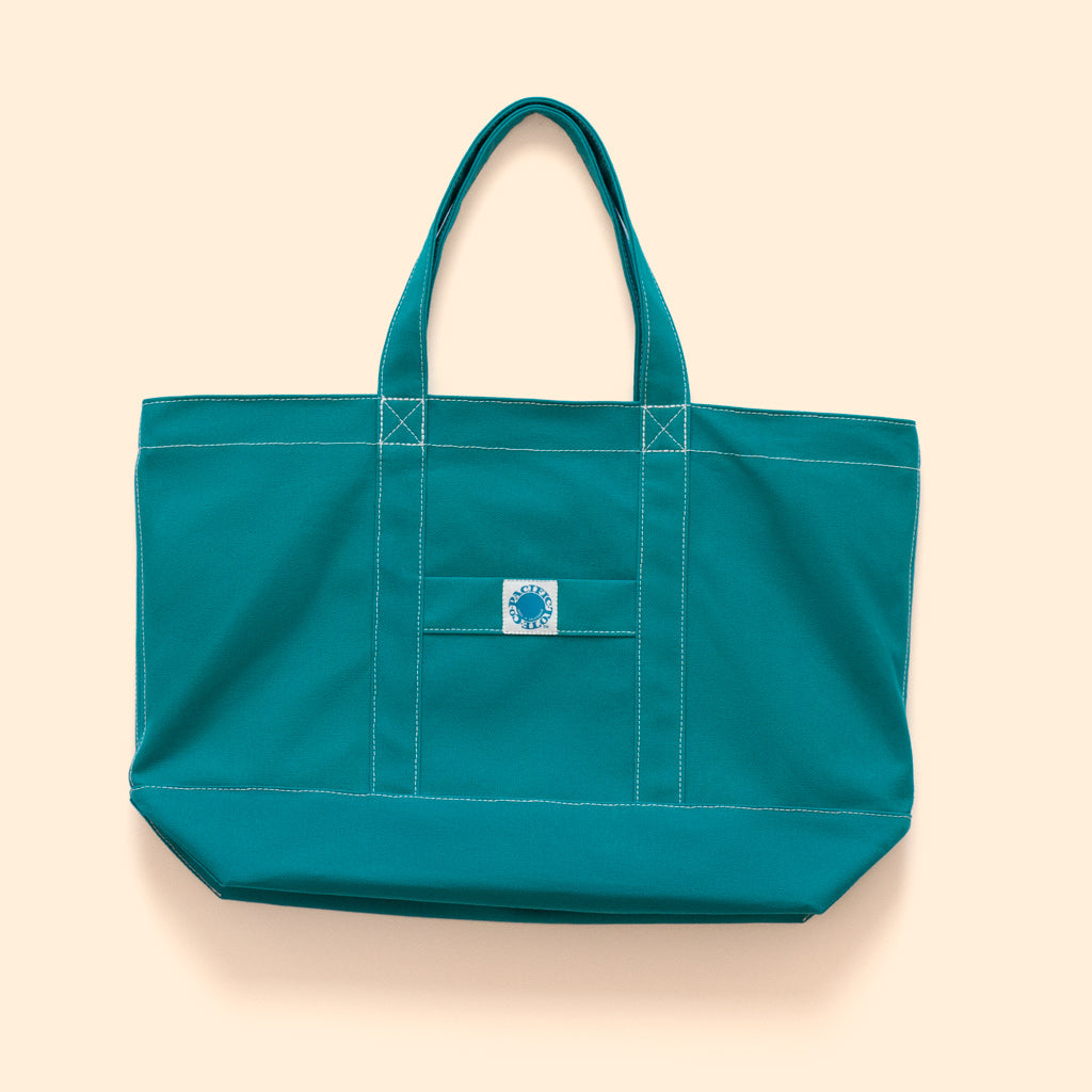 """Big Sur"" Zippered Tote (BS190029Z)"