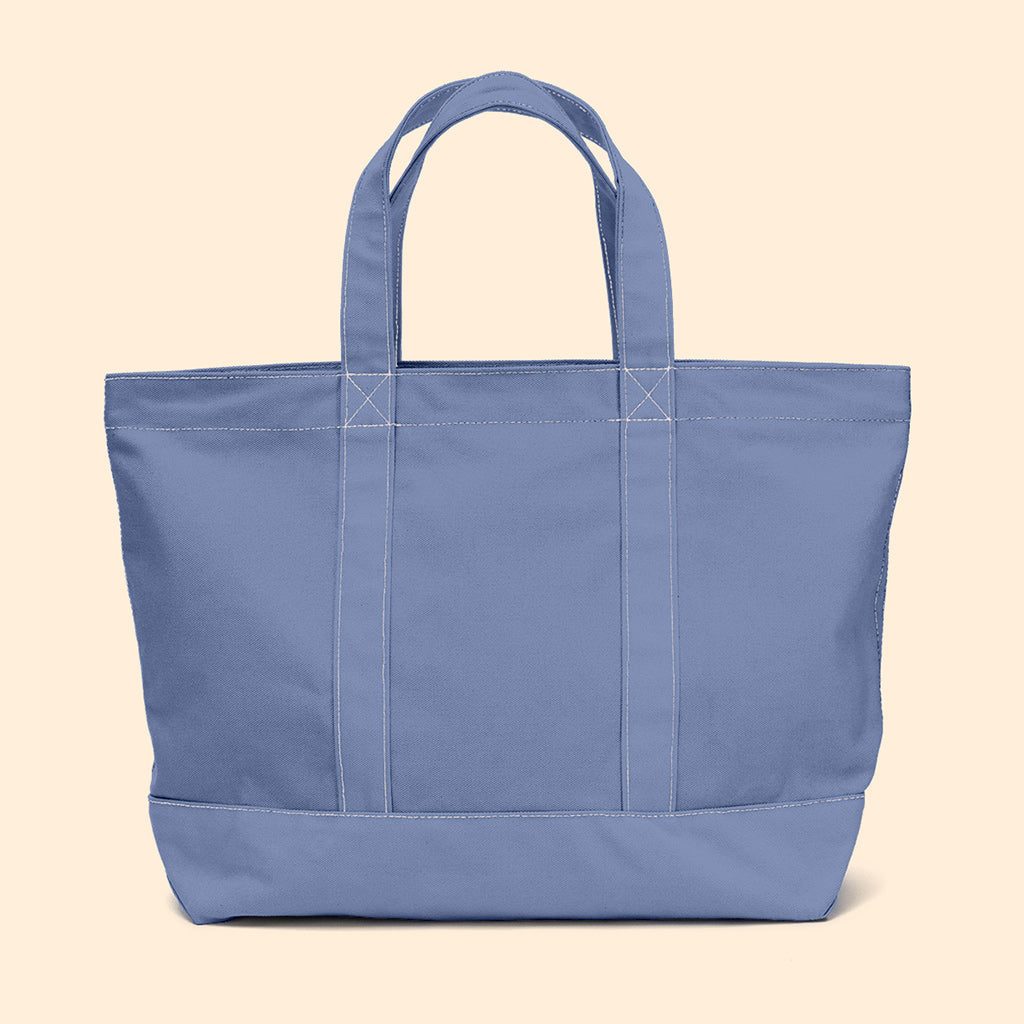 """Big Sur"" Zippered Tote (BS190030Z)"