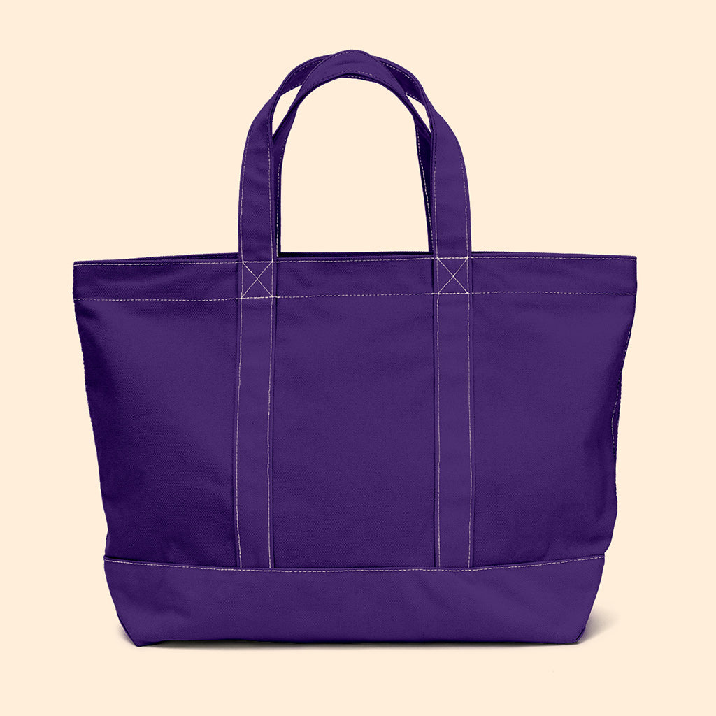 """Big Sur"" Zippered Tote (BS190031Z)"