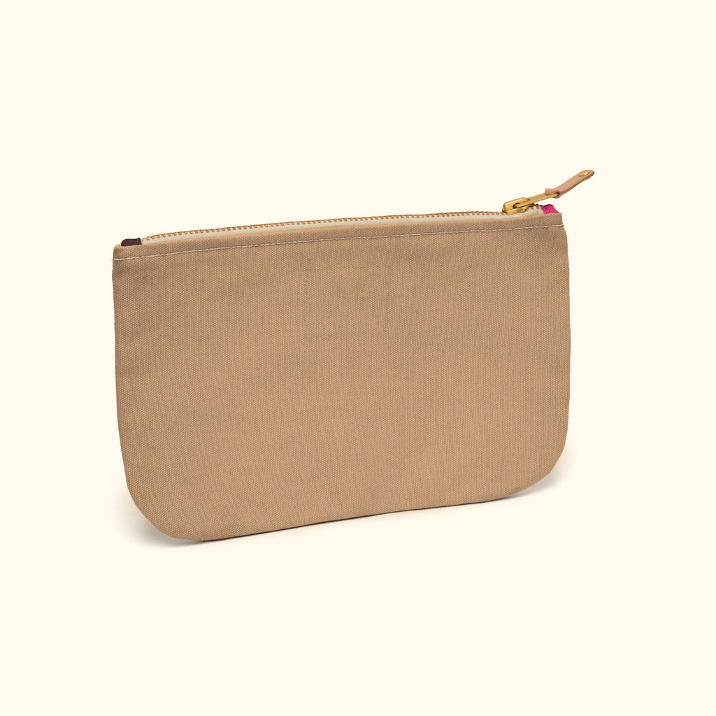 """Zuma"" Canvas Pouch (ZR150022)"