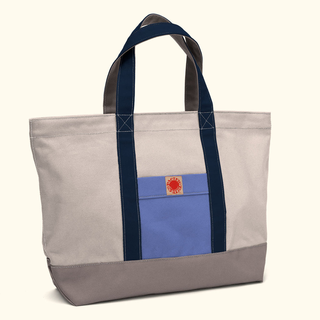 """Big Sur"" Zippered Tote (BS130008Z)"