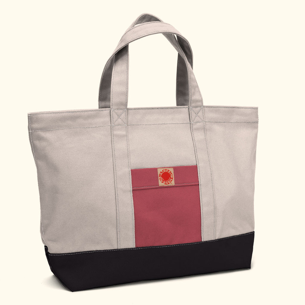 """Big Sur"" Zippered Tote (BS130019Z)"