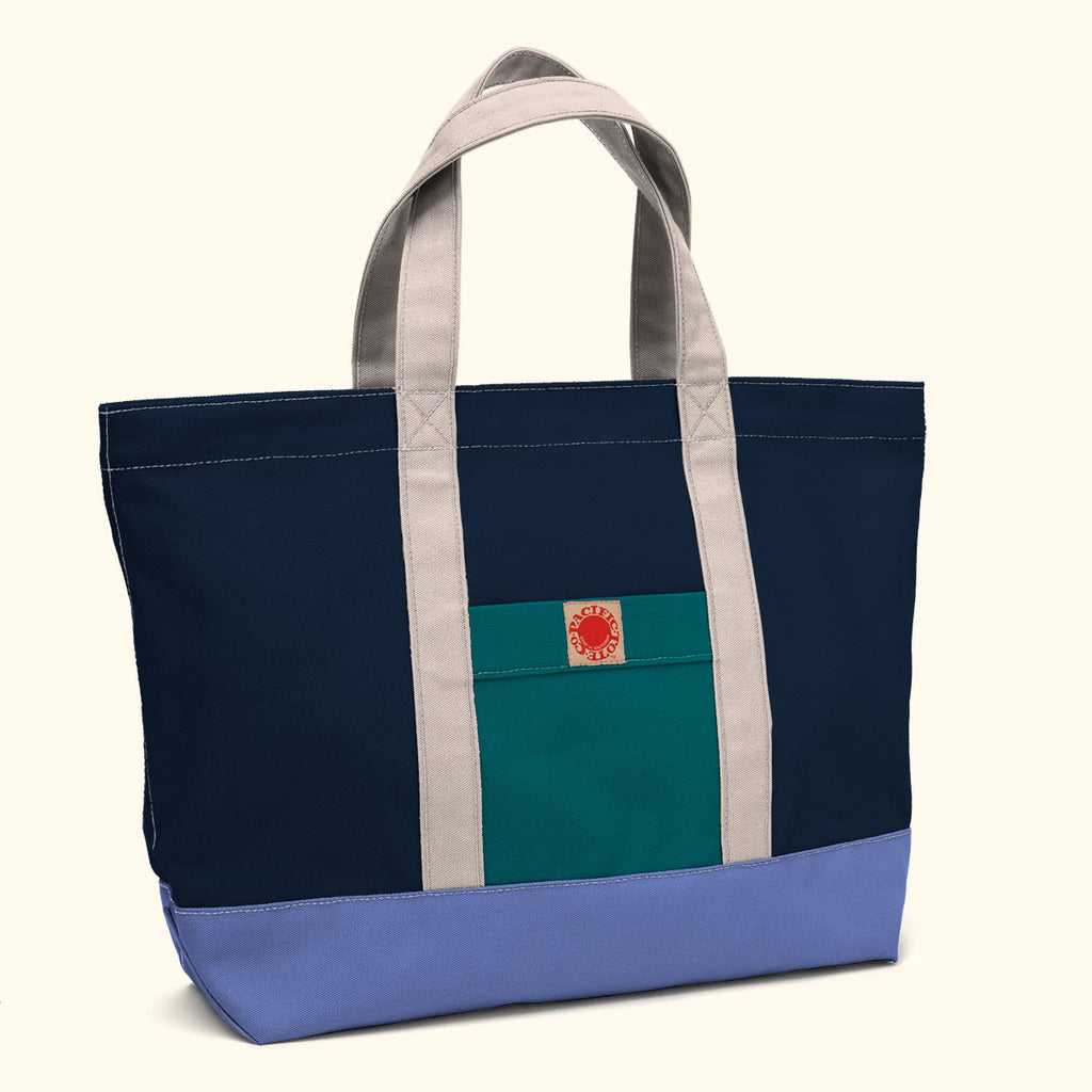 """Big Sur"" Zippered Tote (BS130030Z)"