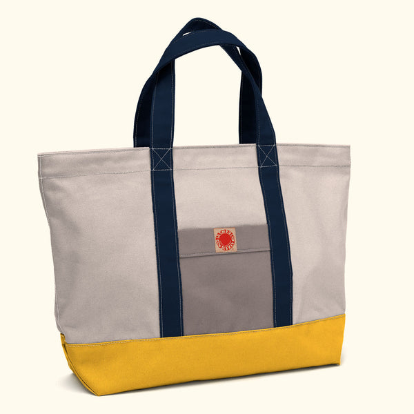 """Big Sur"" Zippered Tote (BS150004Z)"