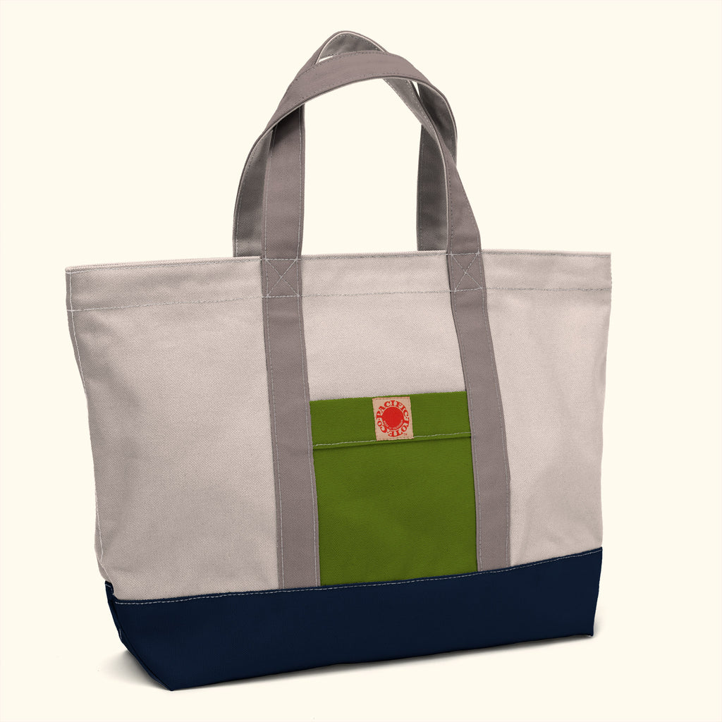 """Big Sur"" Zippered Tote (BS150046Z)"