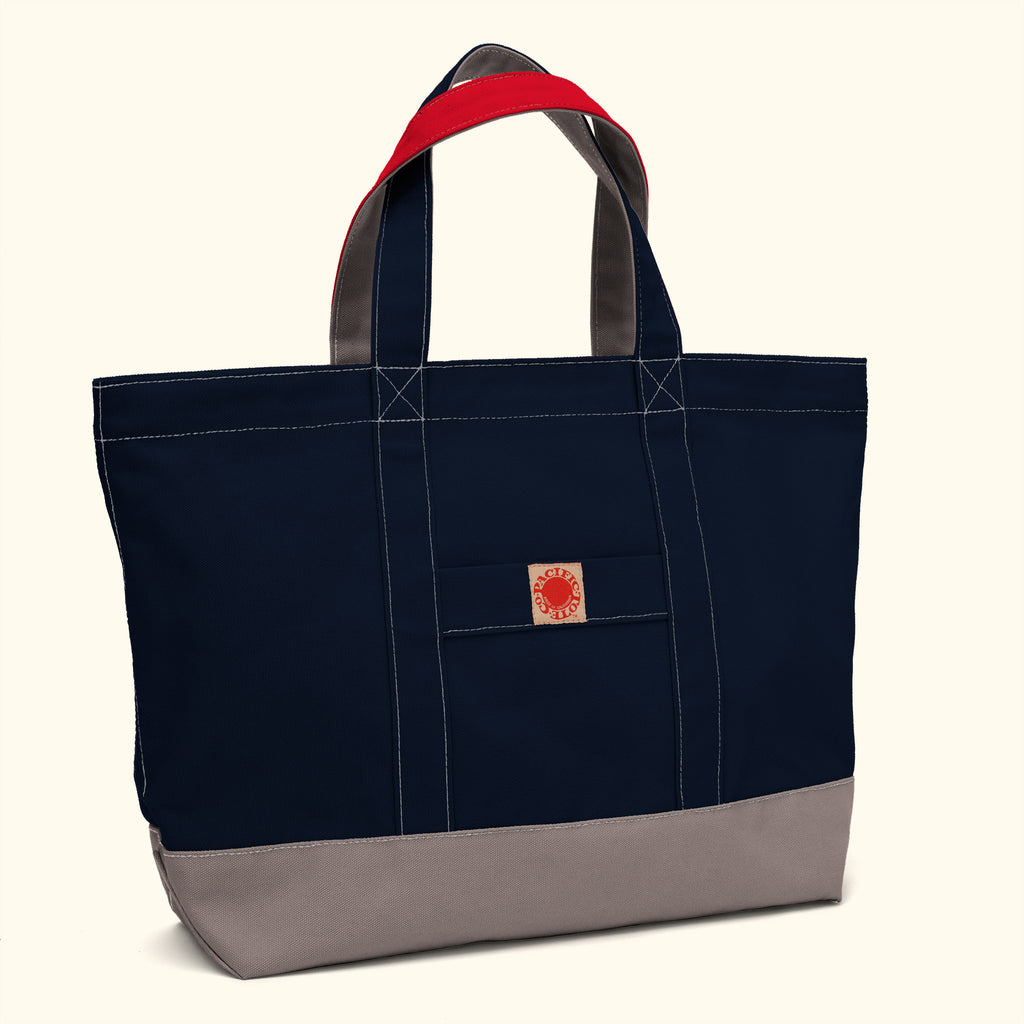 """Big Sur"" Zippered Tote (BS150048Z)"