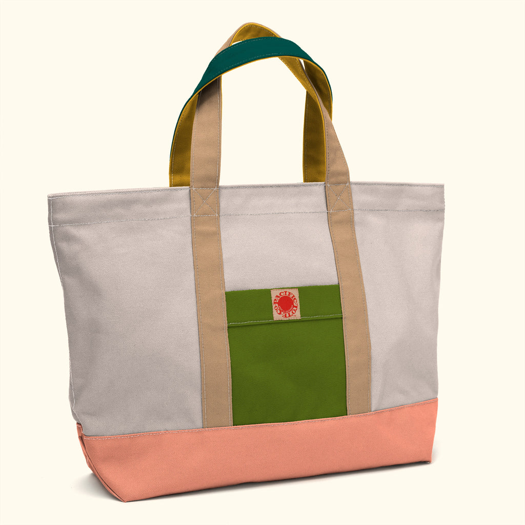 """Big Sur"" Zippered Tote (BS150050Z)"