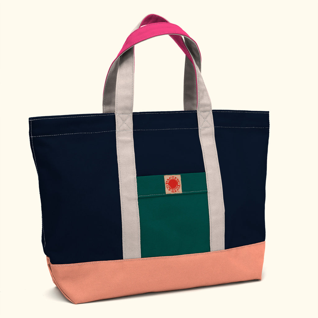 """Big Sur"" Zippered Tote (BS150051Z)"