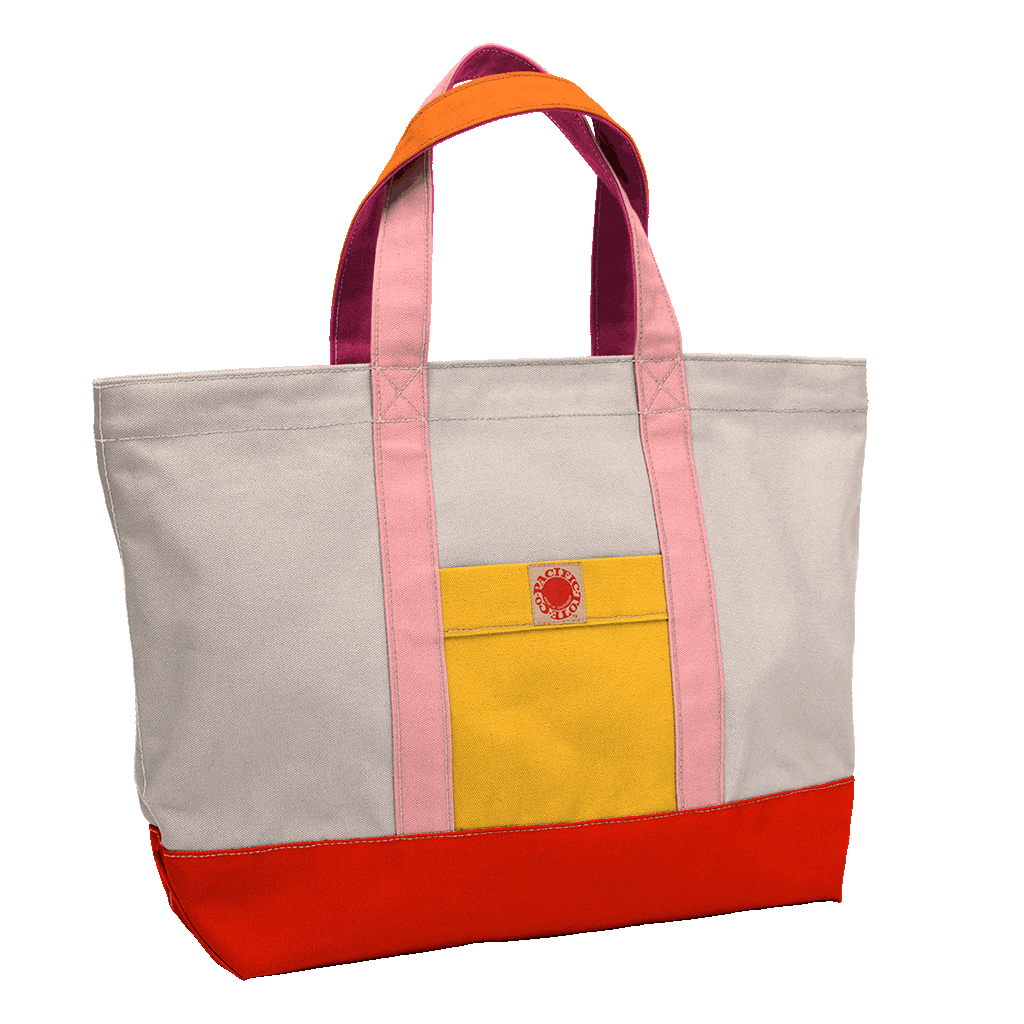 """Big Sur"" Zippered Tote (BS170007Z)"