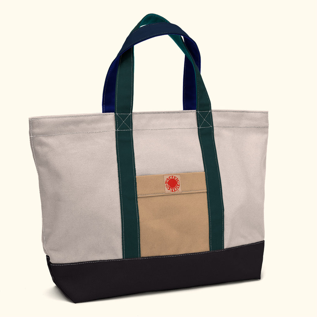 """Big Sur"" Zippered Tote (BS170014Z)"