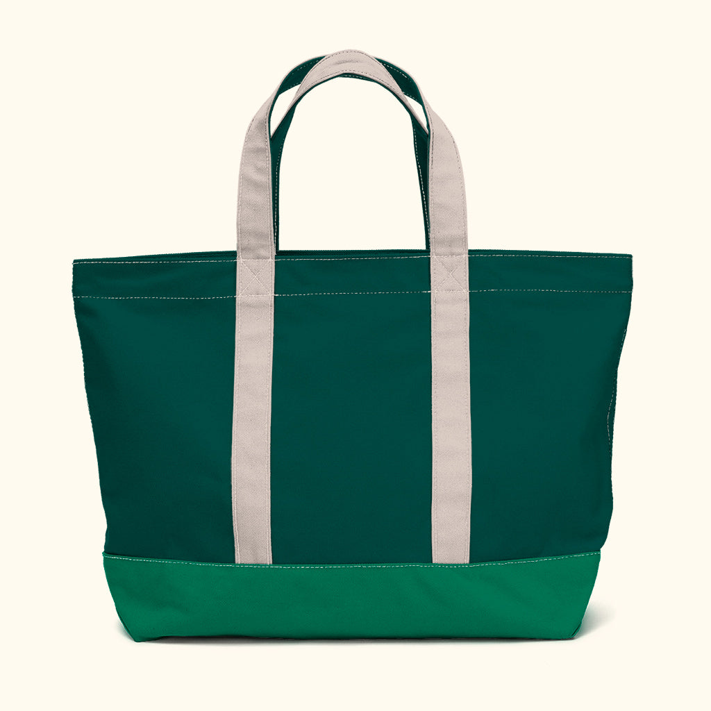 """Big Sur"" Zippered Tote (BS170021Z)"