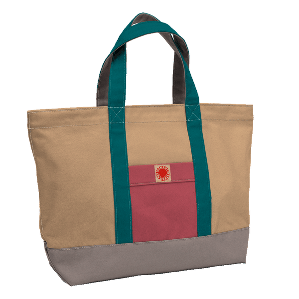 """Big Sur"" Zippered Tote (BS170024Z)"